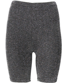 Sarlini | Dames Short Legging | Zwart Lurex