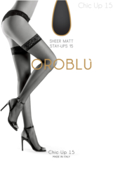 Oroblu Bas Chic Up 15 Stay Up Kous Suntouch