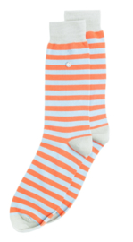 Alfredo Gonzales Stripes Orange/Light Blue/Light Grey