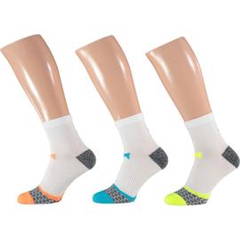 X-treme Running | Hardloop sokken | Multi White | 3-Pack