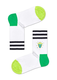 Happy Socks Athletic Alien Studs Mid High Sock