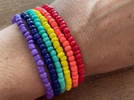 Kralen armband Regenboog Pride