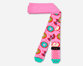 Happy Socks Kids Antislip Maillot, Donuts Tights