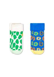 Happy Socks 2-Pack Apple Terry Socks 0-6 Maanden