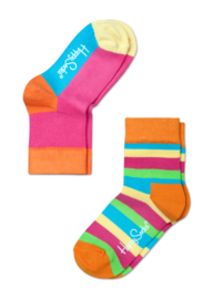 Happy Kids 2-pack Stripes Orange