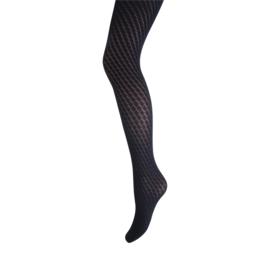 Marianne Fashion Panty met Wafeltjes Zwart 30035