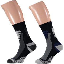 X-treme Walking | Wandel sokken | Multi Blue | 2-Pack