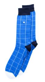 Alfredo Gonzales Blocks Blauw/Wit