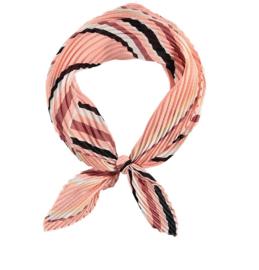 Sarlini Neksjaaltje | Haarsjaaltje Stripes Light Pink