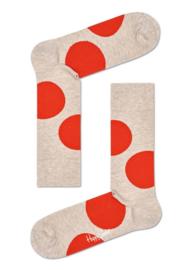 Happy Socks Jumbo Dot Sock Orange