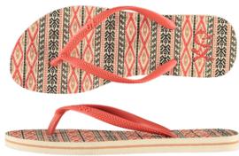Flip flops Dames   Teenslippers Aztec Beige / Coral