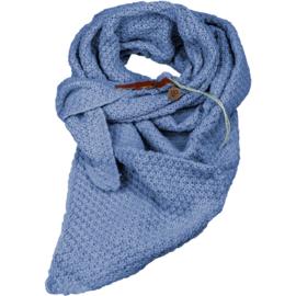 Gebreide Knitten Royale omslagdoek | wintersjaal Lot, Lavendel