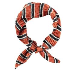 Sarlini Neksjaaltje | Haarsjaaltje Stripes Brique