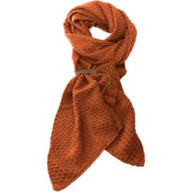 LOT83 | Bo | Lange knitted Gebreide Sjaal | Almond