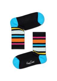 Happy Socks Kids Rainbow Stripe Rib Sock