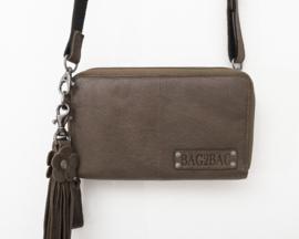 Bag2Bag | Grote Wallet met dubbele rits | Gibson Olive