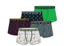 Pierre Cardin 5-Pack Heren Trunks | Boxershorts met Design 1