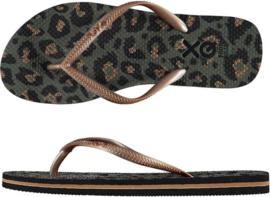 Flip flops Dames | Teenslippers Animal Legergroen