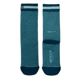 XPooos Essential Bamboo Sokken Ocean Mel. 77002