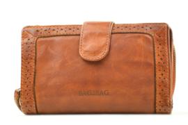 Bag2Bag Limited Edition Wallet   Portemonnee Irving, Cognac