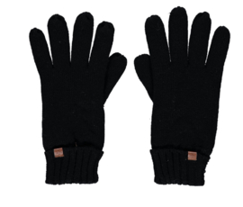 Sarlini gebreide Heren handschoen Zwart