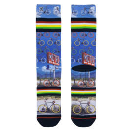 Xpooos Heren Socks Bike Trip 60226