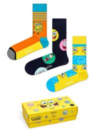 Happy Socks SpongeBob 3-Pack Gift box
