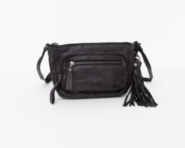 Bag2Bag Melfort Zwart | Heuptasje | Crossbodytasje