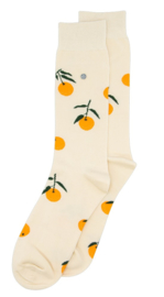 Alfredo Gonzales Socks Tangerine Offwhite Orange
