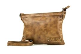 Bag2Bag Schoudertas - Clutch Darwin Brown