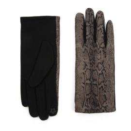 Dames handschoenen met Snake print