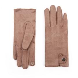 Dames handschoenen Coffee voor Touch Screen