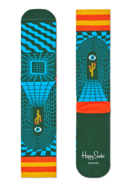Happy Socks Athletic Illusion Crew Sock