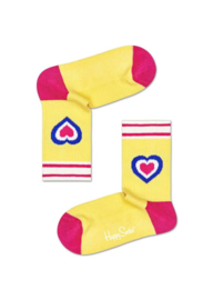Happy Socks Kids Heart Rib Sock