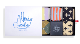 Alfredo Gonzales Socks & Stripes 5-Pack Giftbox
