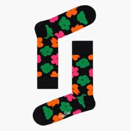 Happy Socks Andy Warhol Flower Sock Zwart