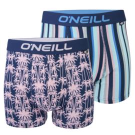 O'Neill Heren Boxershorts Palm Stripe | 2-pack | 900682