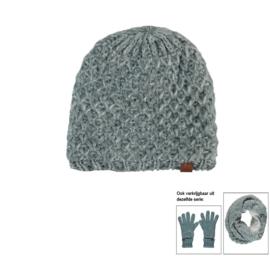 Sarlini Knitted Wintermuts IJsblauw