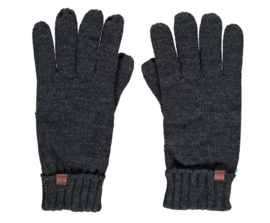 Sarlini gebreide Heren handschoen Antraciet