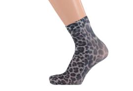 Sarlini Panty enkelkousje Leopard Grijs