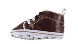 Baby Boy stoere Sneakerschoentjes | Bruin