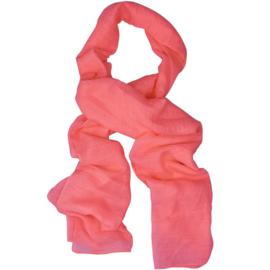 LOT83 Basic Sjaal Sun   Coral Colour 19