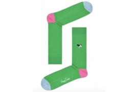 Happy Socks Embroidery Ribe Yin Yang Cow