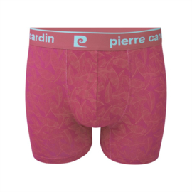 Pierre Cardin Heren Trunk | Boxershort Leaves Pink