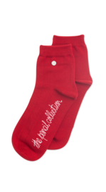 Alfredo Gonzales Short |Low Sock, Pencil Rood