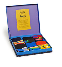 Happy Socks Collabs 6-Pack Gift box The Beatles