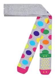 Happy Socks Kids Antislip Maillot, Big Dot Tights