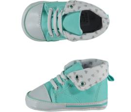 Baby Sneakerschoentjes | Mintgroen Hearts