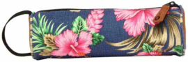 Mi-Pac Etui - Tropical Hibiscus Blue
