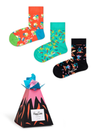 Happy Socks 3-Pack Gift box Volcano | 12 - 24 maanden, Maat 22/24
